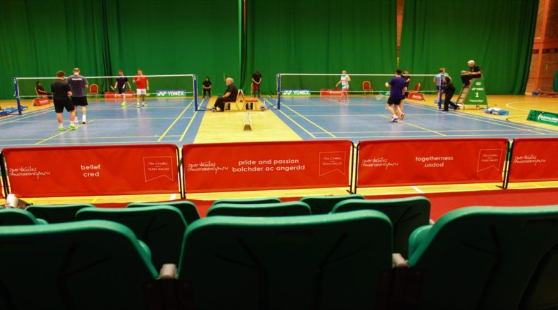 Watching badminton