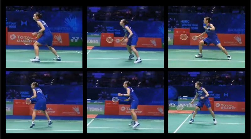 Badminton Stances