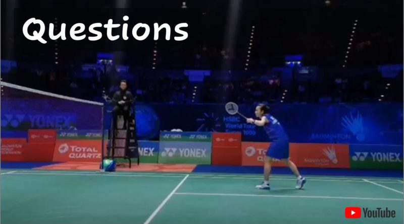 Which Badminton Stances can you see